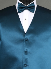 Simply Solids Peacock Bow Tie