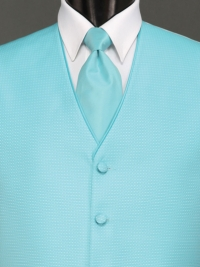 Sterling Rio Turquoise Solid Tie
