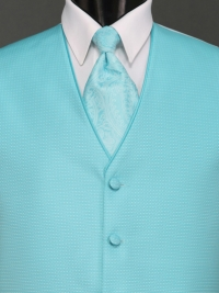 Sterling Rio Turquoise Paisley Tie