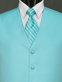 Sterling Rio Turquoise Stripe Tie