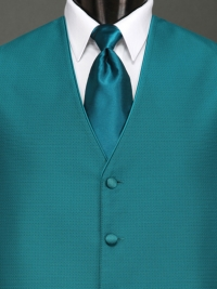 Sterling Teal Solid Tie