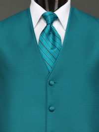 Sterling Teal Stripe