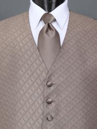Spectrum Mocha Solid Tie