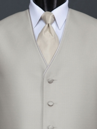 Sterling Bali Tan Solid Tie