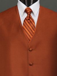 Sterling Cinnamon Stripe Tie