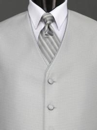 Sterling Bali Silver Stripe Tie