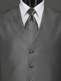 Sterling Charcoal Solid Tie