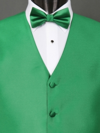 Solid Fusion Solid Shamrock Bow Tie
