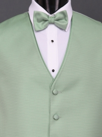 Sterling Clover Bow Tie