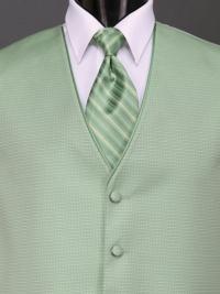 Sterling Clover Stripe Tie