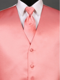 Simply Solid Coral Reef Ombre Tie