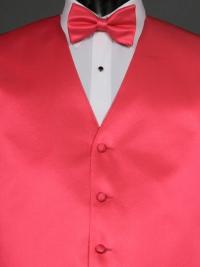 Simply Solid Bright Fuchsia Bow Tie