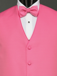 Sterling Light Fuchsia Bow Tie