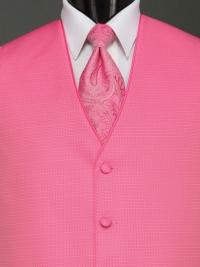 Sterling Light Fuchsia Paisley Tie