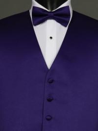 Solid Satin Purple
