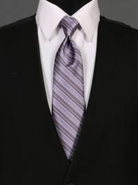 Multi-Stripe Victorian Lilac Tie