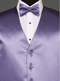 Simply Solid Freesia Bow Tie