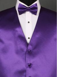 Simply Solid Viola Bow Tie