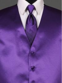 Simply Solid Viola Ombre Tie