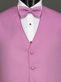Sterling Cerise Bow Tie