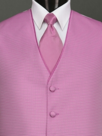 Sterling Cerise Solid Tie