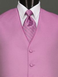 Sterling Cerise Stripe Tie