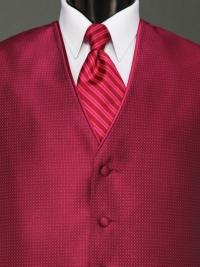 Sterling Magenta Stripe Tie