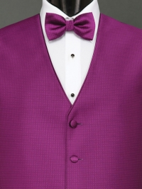 Sterling Violet Bow Tie