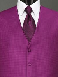 Sterling Violet Paisley Tie