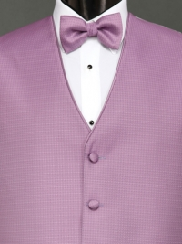 Sterling Wild Orchid Bow Tie