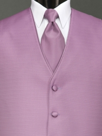 Sterling Wild Orchid Solid Tie