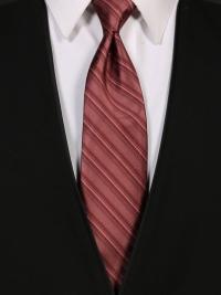Multi-Stripe Rosewood Tie