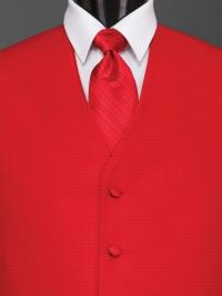 Sterling Ferrari Red Stripe Tie