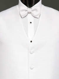 Sterling Pure White Bow Tie