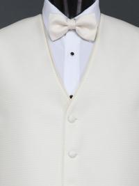 Sterling Vanilla Bow Tie