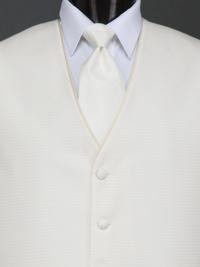 Sterling Vanilla Solid Tie