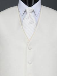 Sterling Vanilla Stripe Tie