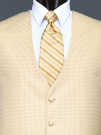 Sterling Gold Stripe Tie