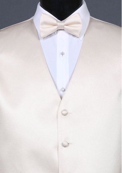 a208b99e36bb Simply Solid Champagne Bow Tie